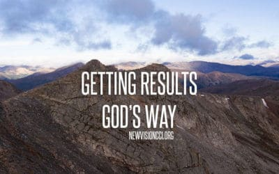 Getting Results God's Way