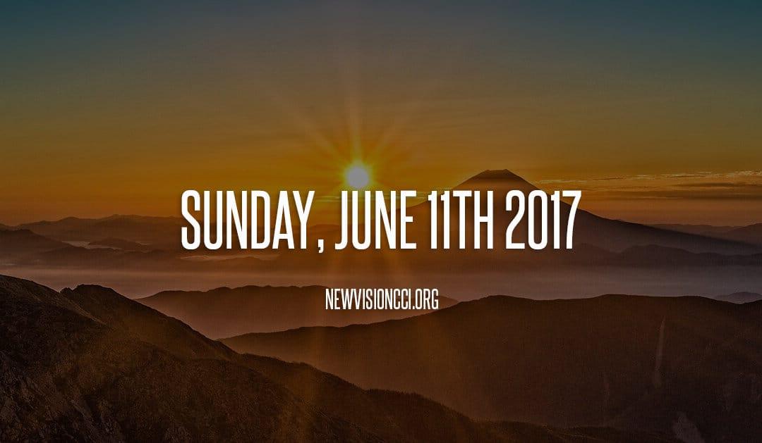 Sunday, June 11th 2017
