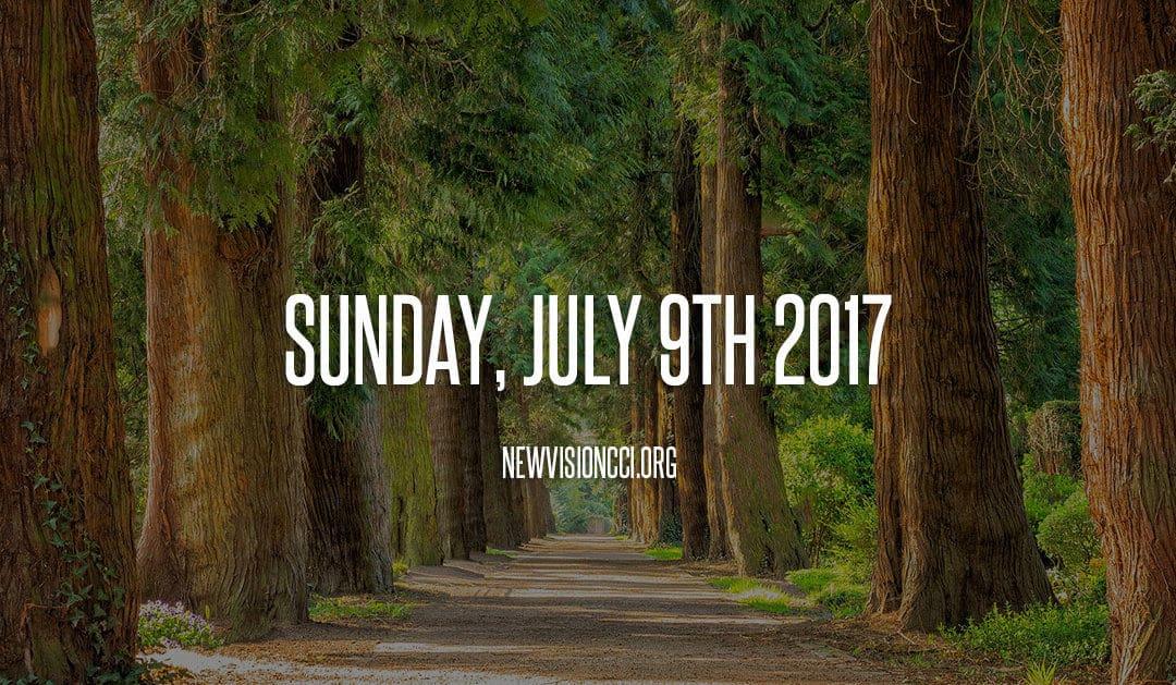 Sunday, July 9th 2017
