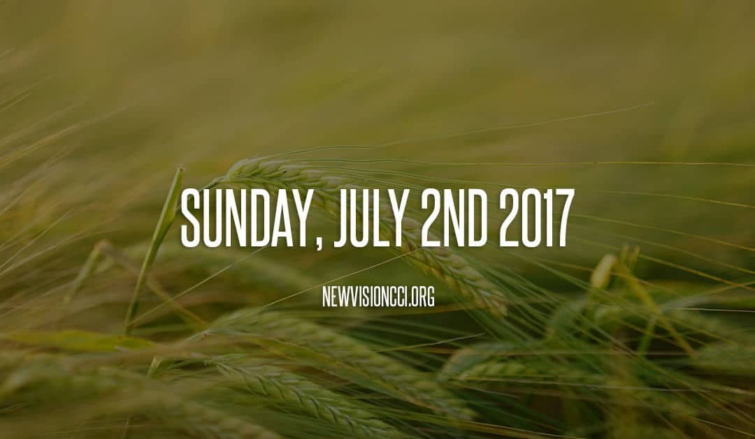 Sunday, July 2nd 2017