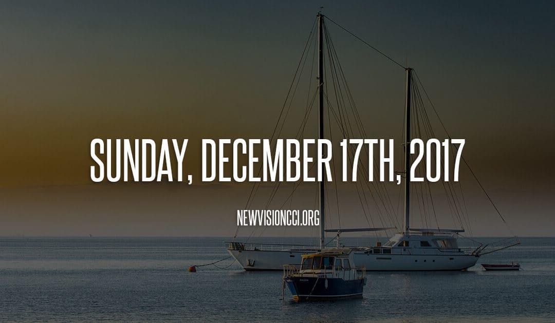 Sunday, December 17th 2017