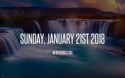 Sunday, January 21st 2018