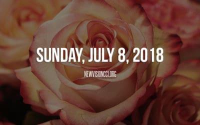 Sunday, July 8, 2018