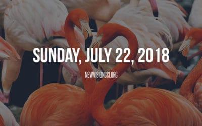 Sunday, July 22nd 2018
