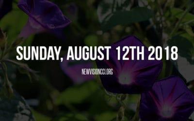 Sunday, August 12th 2018