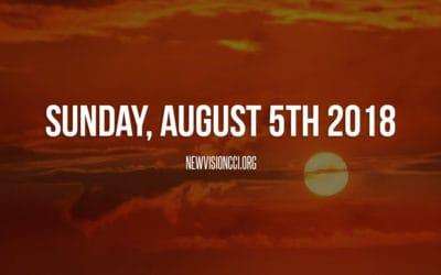 Sunday, August 5th 2018