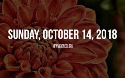 Sunday, October 14, 2018
