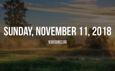 Sunday, November 11, 2018