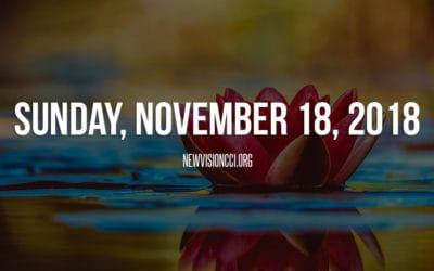 Sunday, November 18, 2018