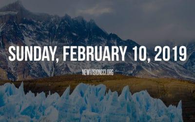 Sunday, February 10, 2019