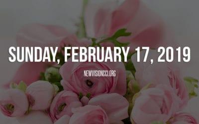 Sunday, February 17, 2019