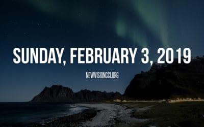 Sunday, February 3, 2019