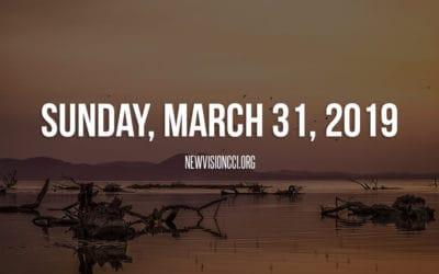 Sunday, March 31, 2019