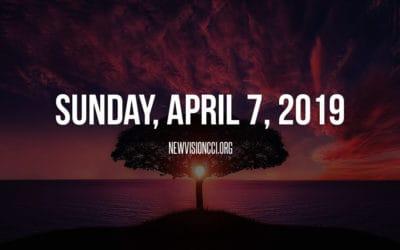 Sunday, April 7, 2019