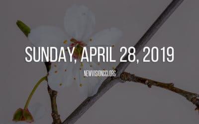 Sunday, April 28, 2019