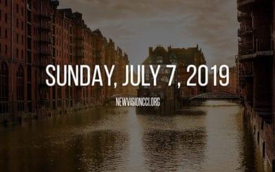 Sunday, July 7, 2019