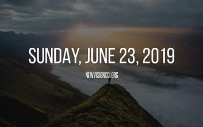 Sunday, June 23, 2019