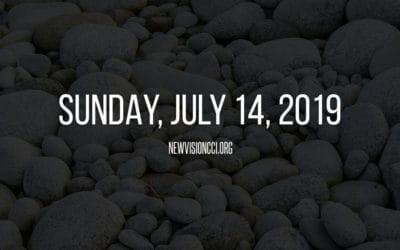 Sunday, July 14, 2019