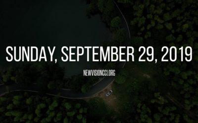 Sunday, September 29, 2019