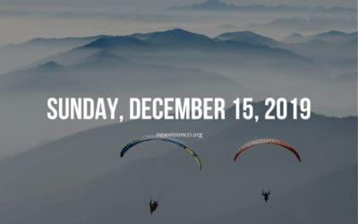 Sunday, December 15, 2019