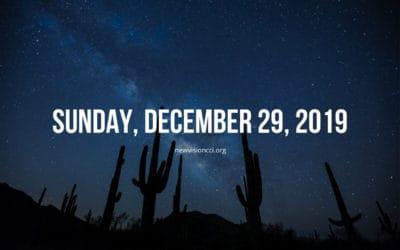 Sunday, December 29, 2019