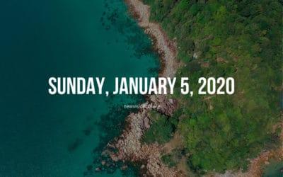Sunday, January 5, 2020