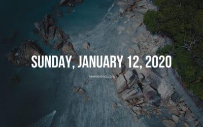 Sunday, January 12, 2020