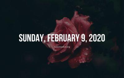 Sunday, February 9, 2020
