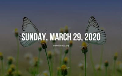 Sunday, March 29, 2020