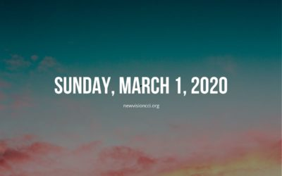 Sunday, March 1, 2020