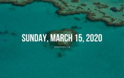 Sunday, March 15, 2020
