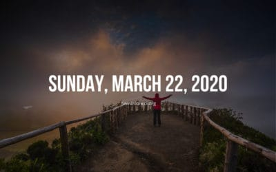 Sunday, March 22, 2020
